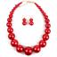 Fashion-Boho-Crystal-Pendant-Choker-Chain-Statement-Necklace-Earrings-Jewelry thumbnail 110