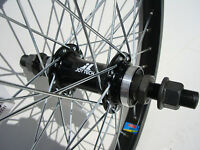 Bmx Bike Rear Wheel 18 X1.75 Bicycle 14mm Axle Flip Flop Haro Se Redline Gt