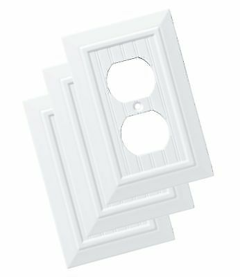 Franklin Brass W35266v Pw C Classic Beadboard Single Duplex Wall