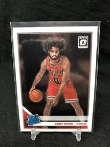 2019-20-Panini-Donruss-Optic-Rated-Rookie-Coby-White-RC-180-Chicago-Bulls-I37