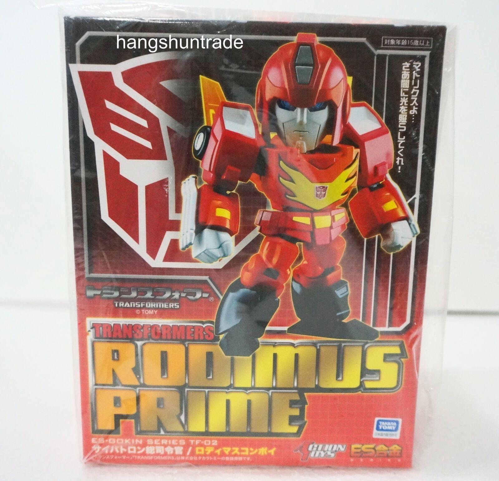 Fewture Action Toys ES Gokin Series ES-TF02 Transformers Rodimus Prime Figure