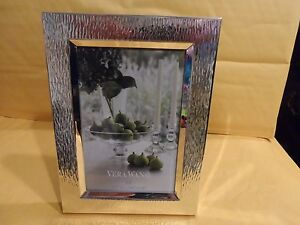 Wedgwood Vera Wang Metal Hammered Picture Frame 4 X 6 New Ebay