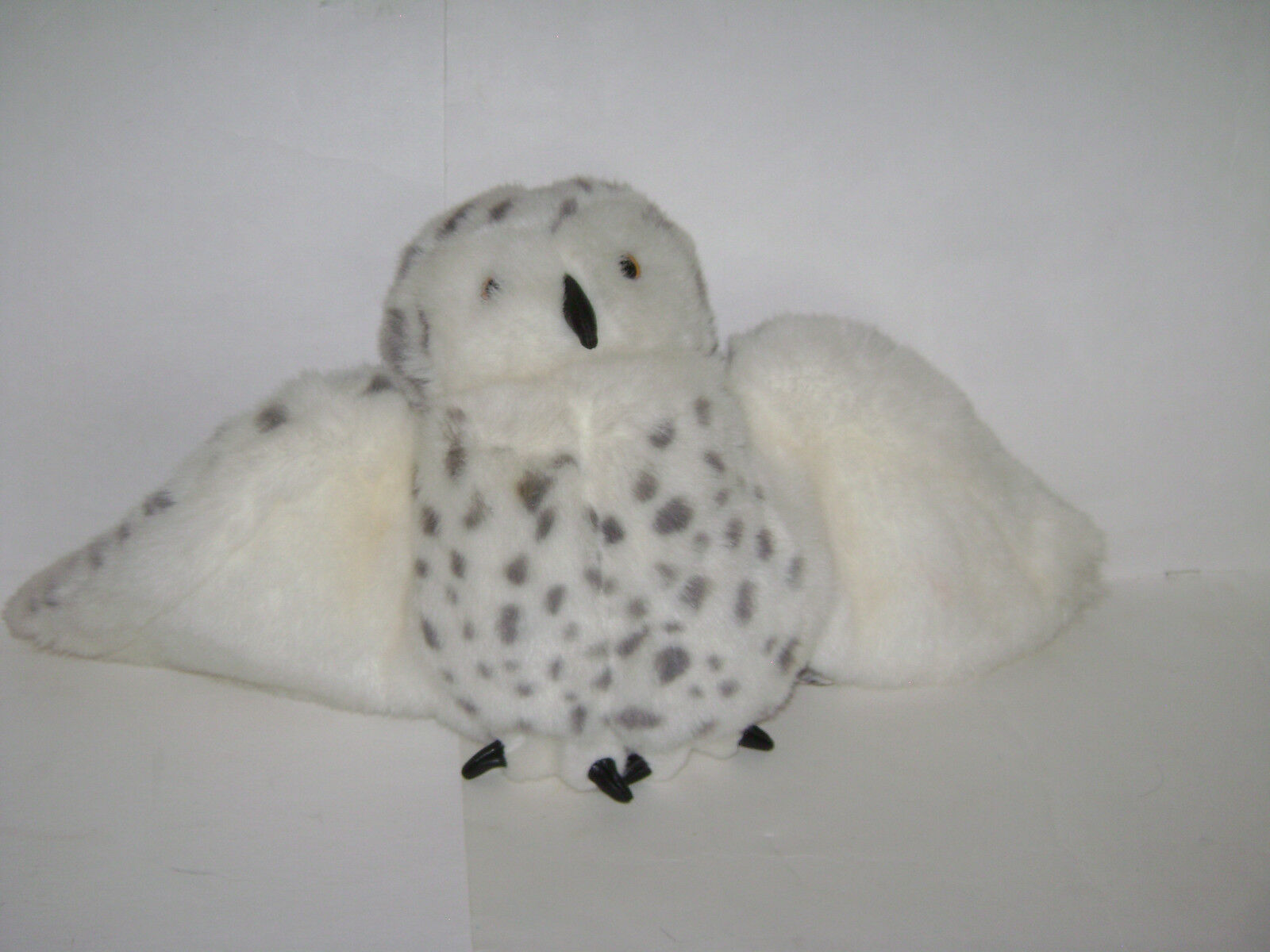 Folkmanis Plush Spotted Snowy Owl Puppet redating Head 14  Harry Potter Hedwig