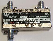 HIROSE SMA DIRECTIONAL COUPLER 2GHz (1.7 - 2.3) 3dB  HDH-02003DHD         fba32b