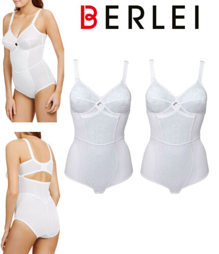 42DD Pack of 2 Berlei Classic Total Support Non-Wired Panty Corselette Womens