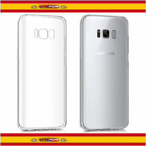 carcasa transparente galaxy s8 plus