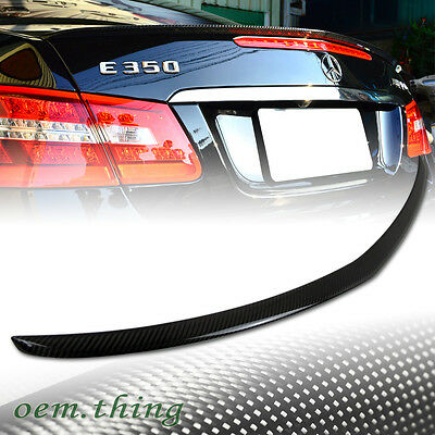 """SHIP OUT TODAY"" Carbon Fiber Mercedes Benz C207 E Class Coupe A Trunk Spoiler"