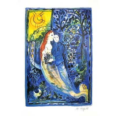2027029. MARC CHAGALL (After) The Wedding Print, I325 of 500 Lot 2027029