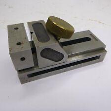 Vintage Precision Machinist Tools Joseph B Fakes Amp Co Machinist Vise With Knob
