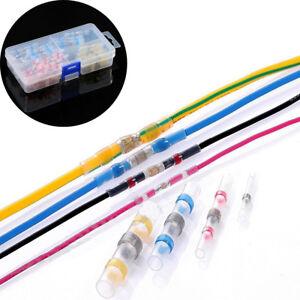 50-100Pcs-Heat-Shrink-Solder-Sleeve-Butt-Splice-Wire-Connector-Waterproof