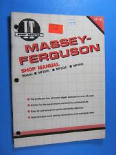 Iampt Shop Manual For Massey Ferguson Mf3505 Mf3525 Mf3545