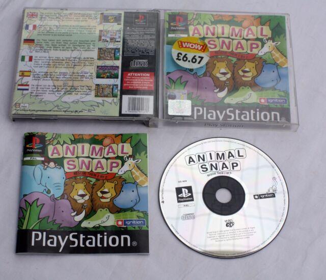 Animal Snap (Sony PlayStation 1, 2003) - 5060050941376