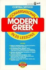 Conversational Modern Greek in 20 Lessons by Emmanuel, Philip D., Abraham, Richa