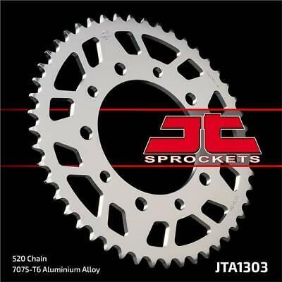 JT Rear Sprocket 52T 520P JTA808.52 Aluminium Silver Suzuki RM 125 1991