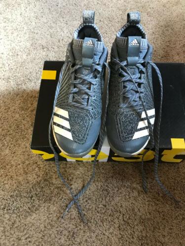 3 Grau Jugend 6 Größe Jungen Icon Adidas Metall Baseballschuh Schuhe Boost YpqOFFw7