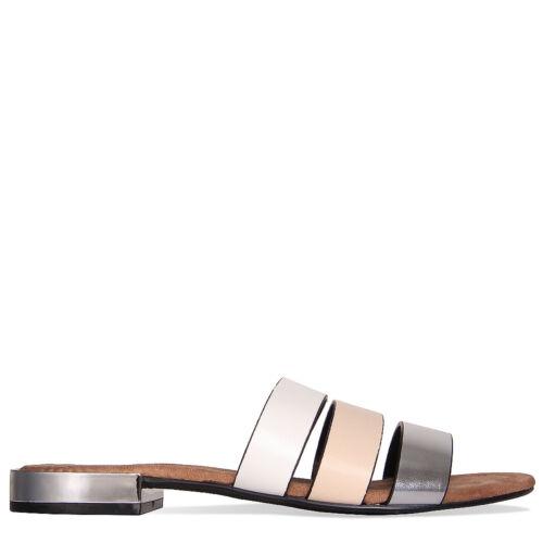 Womens Ladies 3 strap Slipper Sandal Shoe Mules Size