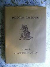 MARCO VALSECCHI: ALBRECHT DURER. PICCOLA PASSIONE. 37 XILOGRAFIE