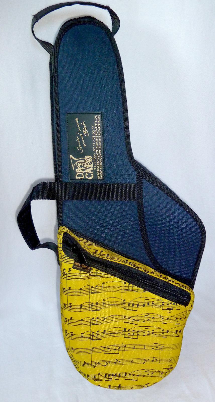 Gig-Bag Tasche Altsaxophon Alto Saxophono Fa. MusiCover Italien handgefertigt