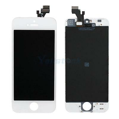 OEM White LCD Display Touch Screen Digitizer Assembly for iPhone 5 5G Parts HK