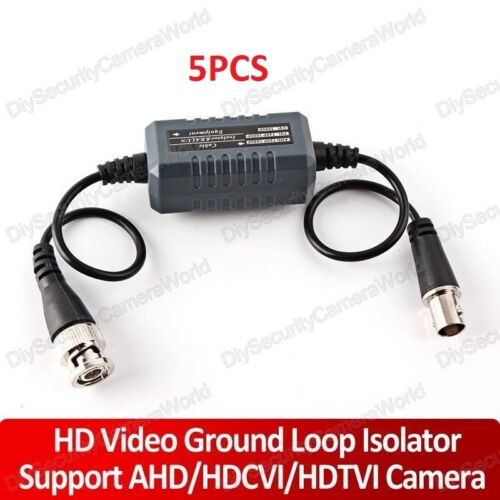 Coaxial Cable 5PCS//Lot CCTV Video Ground Loop Isolator Fast Shipping BNC