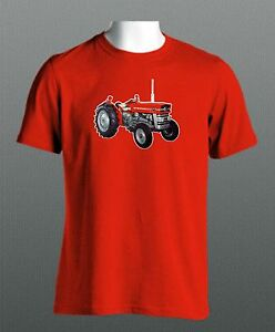 Massey-Ferguson-135-Vintage-Tractor-Mens-Cotton-New-T-Shirt-All-Sizes-S-XXL