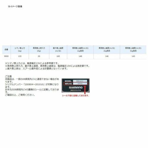 Shimano 19Beast master M9000 Erectric Reel JAPAN
