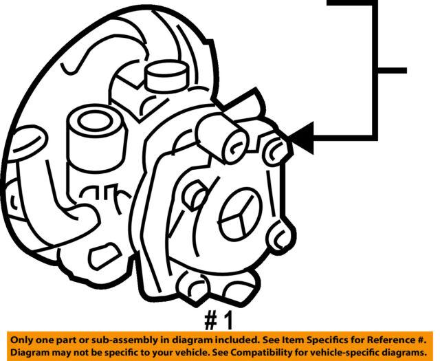 Genuine Mitsubishi Lancer Power Steering Pump 4450a137 For Sale
