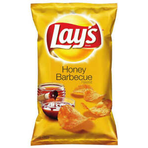 Lay-039-s-Honey-Barbecue-BBQ-Flavour-Potato-Chips-6-5oz-184-2g-Crunchy-Crisps-SEALED