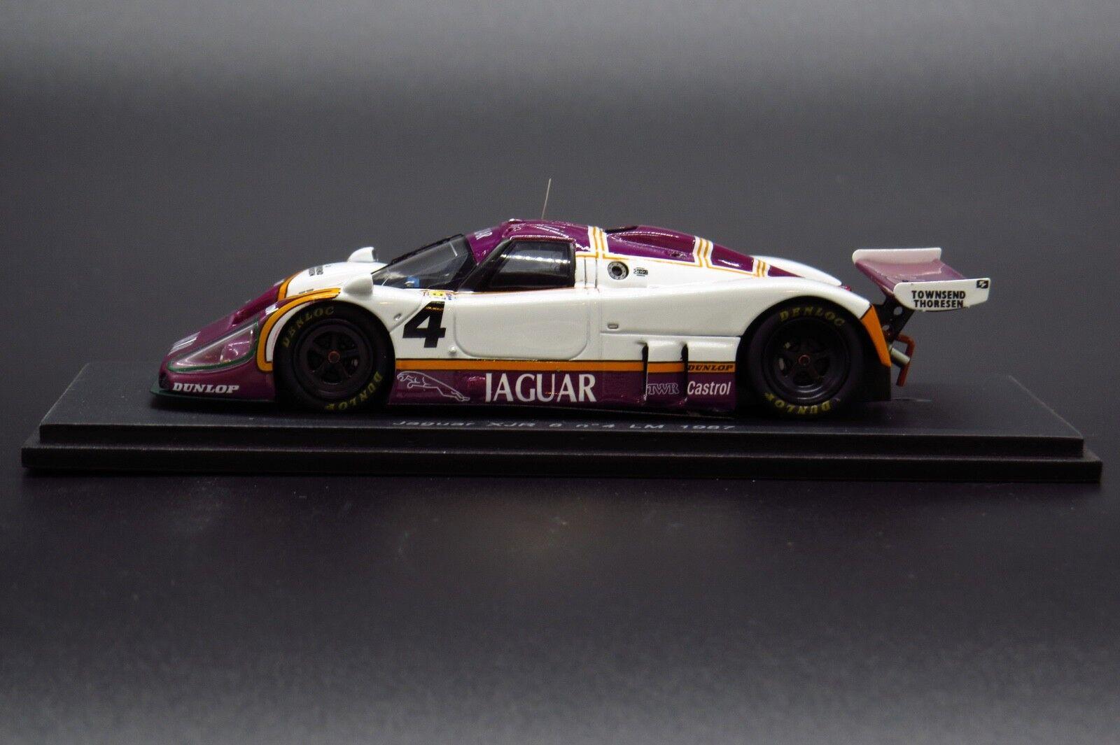 Spark  Models 1 43 Scale S0758 - Jaguar XJR 8  4 LM 1987  profitez de 50% de réduction