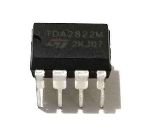 2PCS STMicroelectronics TDA2822M TDA2822 Dual Audio Amplifier New IC