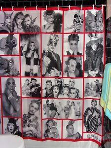 Michael-Fazakerley-Nightbirds-Club-Kids-Shower-Curtain