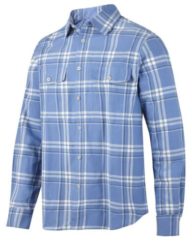 SALE PRICE Snickers 8502 RuffWork Flannel Checked LS Shirt Various Colours