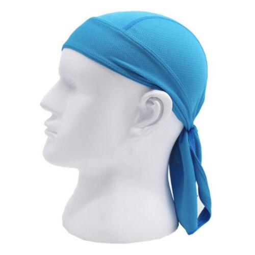 Cycling Pirate Skull Cap Du Rag Quick Dry HeadWrap Do Doo Bandana Breathable Hat