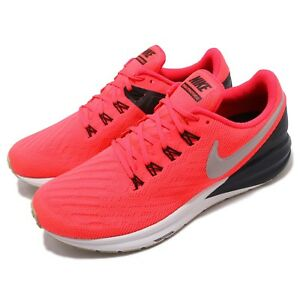 b9cb67d99bf0e9 Nike Air Zoom Structure 22 Red Orbit Pumice Black Men Running Shoes ...
