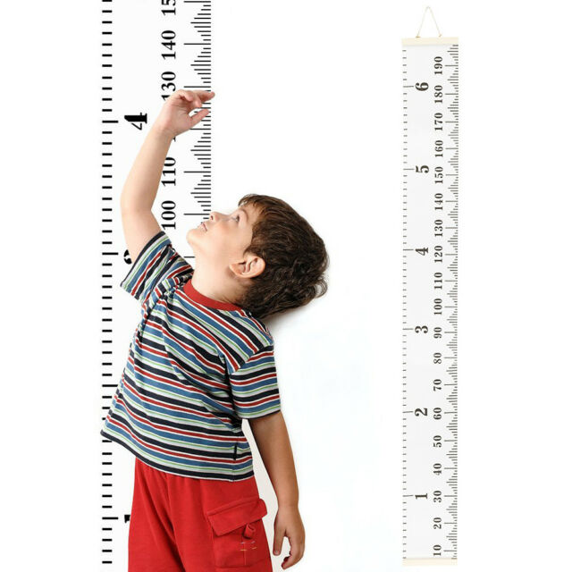 Wooden Height Ruler Growth Chart Personalised Family Gift Fashion
