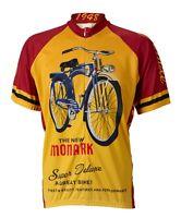 Monark Bicycle Retro Cycling Jersey World Jerseys Men's Short Sleeve With Socks