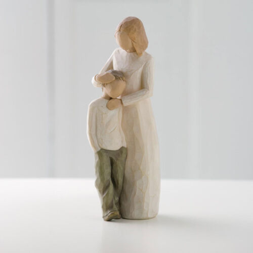 Willow Tree Mother /& Son Figurine 26102  Mum Boy in Branded Gift Box