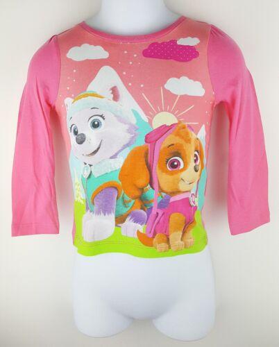 Kids Boy Girl Paw Patrol Long Sleeve Top Tee T-shirt Marshall Chase Rubble BNWT