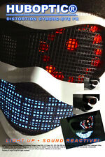 CYBORG EYE FX Light Up Mask Glow Mask LED for Costume Rave Clothing EDM Cosplay