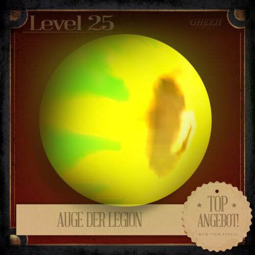 » Auge der LegionEye of the LegionWorld of WarcraftTCG Haustier L25 «