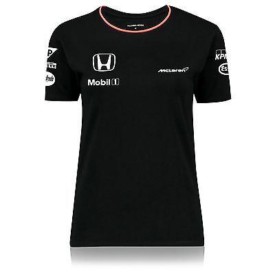 Official McLaren Honda F1 Women/'s 2016 Team T-Shirt