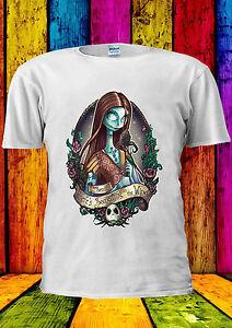 Disney-Princess-Sally-skellington-T-shirt-Gilet-Debardeur-Hommes-Femmes-Unisexe-130