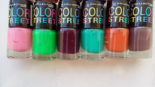 Color Street Nail Polish 6 Pc Fashionable In Glitter Attractive Colors