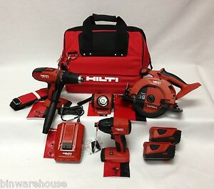 hilti 18v akkuschrauber 4 werkzeug lithium ion combo. Black Bedroom Furniture Sets. Home Design Ideas
