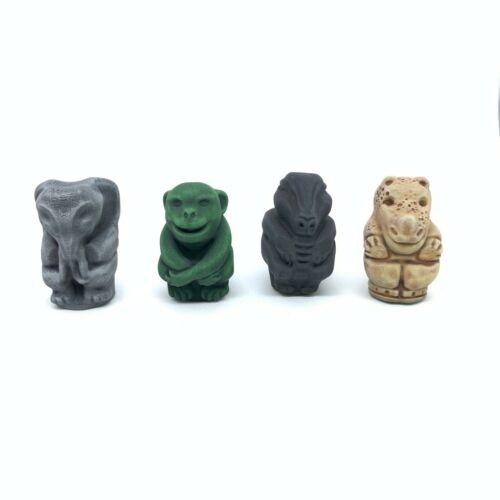 Jumanji set 4 PEDINE gioco da tavolo 3D pawns ART N/' GAME SERIES