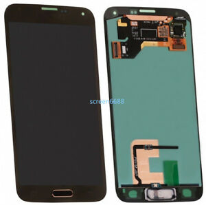 Pour Samsung Galaxy S5 G900F écran LCD Affichage Vitre Tactile Numériseur Gold