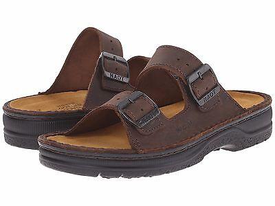 NAOT Mikaela Women's Sandal - Crazy Horse Leather- 37 (US 6) **gently worn**