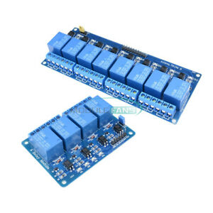 1-2-5-10Pcs-5V-4-8-Channel-Optocoupler-Relay-Module-For-Arduino-PIC-AVR-DSP-ARM