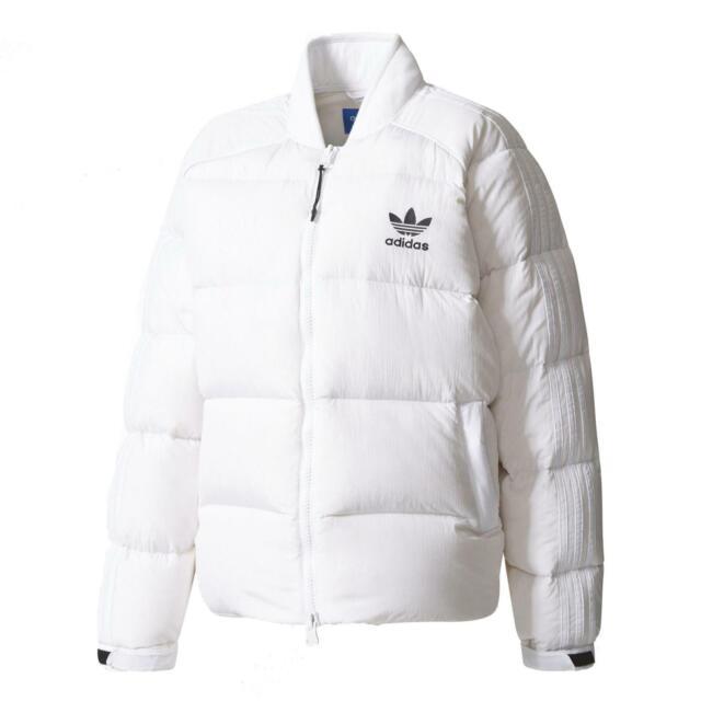 Adidas Damen SST Daunenjacke bs4418 Jacke weiß