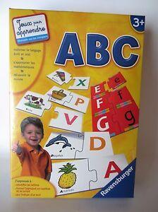 Ravensburger ABC Game Jeu Éducatif et Scientifique Apprendre à Lire et à Écrire